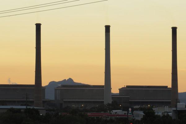 Gladstone Power Station at dusk