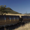 Coal train at Wollar (west of Muswellbrook) NSW